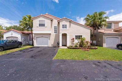 Sunrise Single Family Home For Sale: 1235 NW 125th Ter