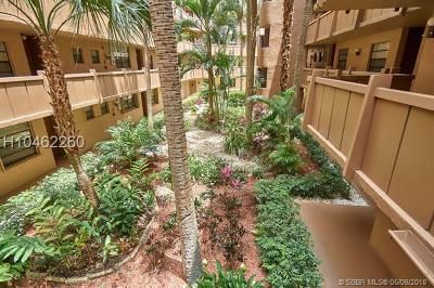 Pembroke Pines Condo/Townhouse For Sale: 1000 Colony Point Cir #216