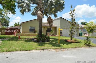 Single Family Home For Sale: 9242 NW 18th St