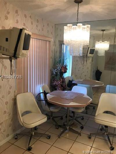 Pembroke Pines Condo/Townhouse For Sale: 12750 SW 15th St #305D