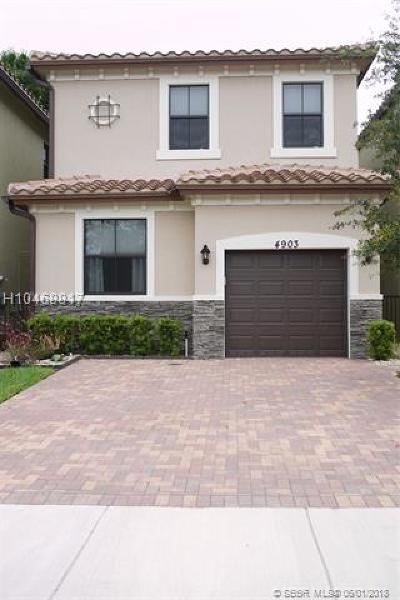 Tamarac Single Family Home Backup Contract-Call LA