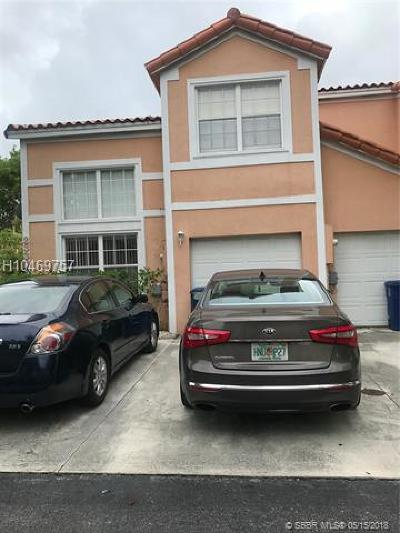 Miramar Condo/Townhouse Backup Contract-Call LA: 2330 SW 84th Ter #2330