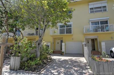 Hollywood Condo/Townhouse For Sale: 306 Oak St #E
