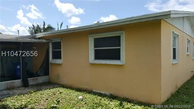 Sunrise Single Family Home For Sale: 2470 NW 64th Ave