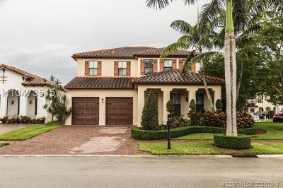 Cooper City Single Family Home For Sale: 4074 NW 85th Dr