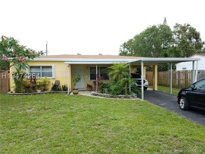 Miramar Single Family Home For Sale: 6544 SW 28th St