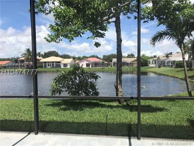 Pembroke Pines Single Family Home For Sale: 741 SW 94th Ter
