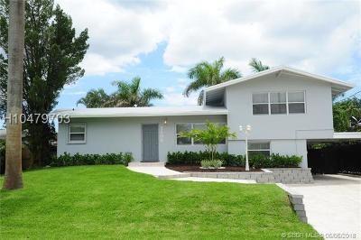Fort Lauderdale FL Single Family Home For Sale: $624,900