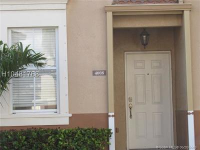 Miramar Condo/Townhouse Backup Contract-Call LA: 4008 SW 158th Ave #59