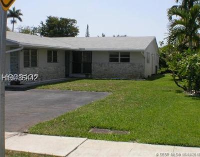 Dania Beach FL Rental For Rent: $1,450