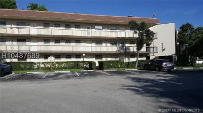 Plantation Condo/Townhouse For Sale: 1801 NW 75th Ave #312