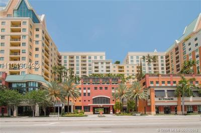 Fort Lauderdale Condo/Townhouse For Sale: 100 N Federal Hwy #621