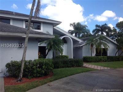Plantation Single Family Home For Sale: 240 Torchwood Ave