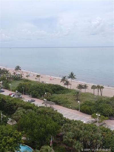 Hollywood Single Family Home For Sale: 1201 S Ocean Dr 1201s
