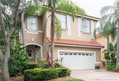 Hollywood Single Family Home For Sale: 1410 Sweetbay Way