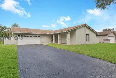 Cooper City Single Family Home Backup Contract-Call LA: 4201 W Sailboat Dr
