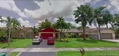 Davie Single Family Home For Sale: 12730 SW 12th Ct