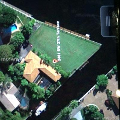 Fort Lauderdale FL Single Family Home For Sale: $2,288,000