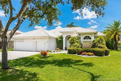Davie Single Family Home For Sale: 16261 Owasco Cir