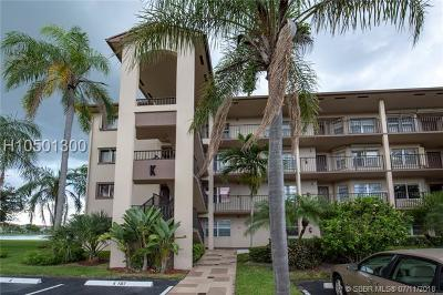 Pembroke Pines Condo/Townhouse For Sale: 13255 SW 16th Ct #K401