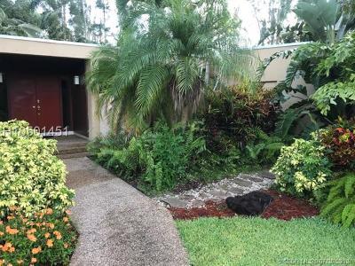 Plantation Single Family Home For Sale: 11230 SW 1st St