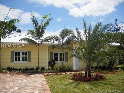Fort Lauderdale FL Single Family Home For Sale: $774,900