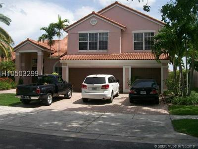 Pembroke Pines Single Family Home For Sale: 19406 NW 13th St