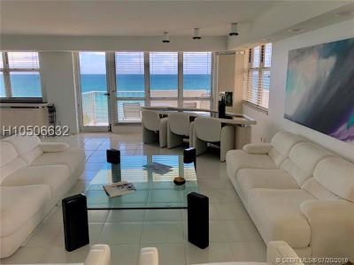 Hallandale Condo/Townhouse For Sale: 1912 S Ocean Drive #8a