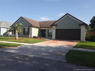 Miramar FL Single Family Home For Sale: $380,000