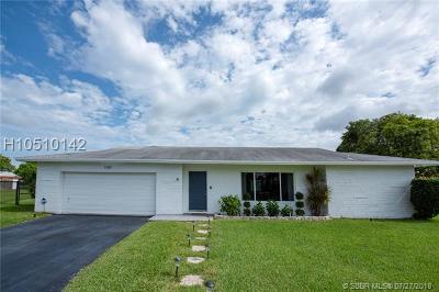 Tamarac Single Family Home For Sale: 7309 NW 95th Way