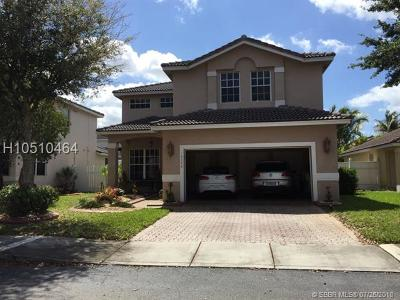 Pembroke Pines Single Family Home Active With Contract: 16346 NW 19th St