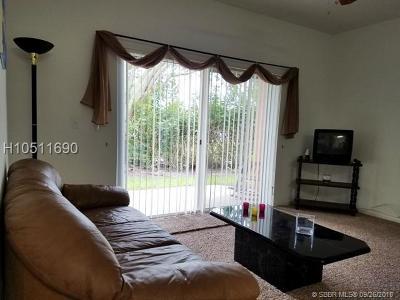Davie Condo/Townhouse For Sale: 6968 SW 39th St #F102
