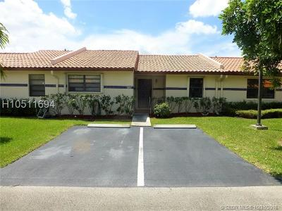 Cooper City Condo/Townhouse Active With Contract: 5937 SW 112th Ter