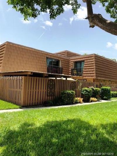 Cooper City Condo/Townhouse Backup Contract-Call LA: 2560 Garden Ct