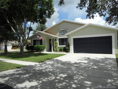 Davie Single Family Home For Sale: 10201 SW 16th Pl