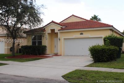 Miramar Single Family Home For Sale: 13445 SW 22nd St