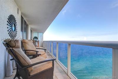 Hallandale Condo/Townhouse For Sale: 1830 S Ocean Dr #3003