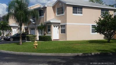 Cooper City Condo/Townhouse For Sale