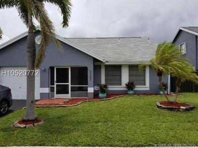 Sunrise FL Single Family Home For Sale: $335,000