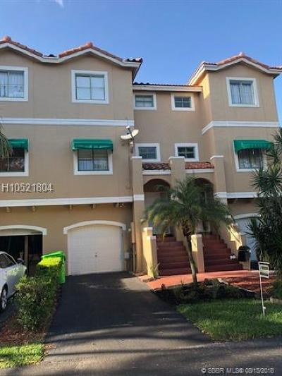 Sunrise Condo/Townhouse For Sale: 1317 NW 126th Ave #1317