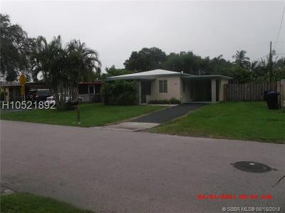 Fort Lauderdale Single Family Home For Sale: 2711 SW 12th Ter