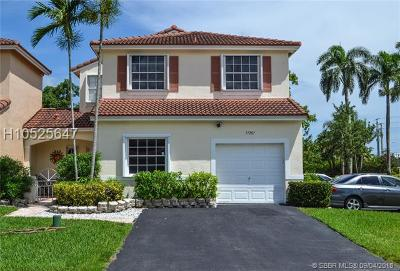 Pembroke Pines Single Family Home For Sale: 17207 NW 8th St
