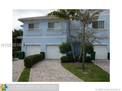 Lauderhill Condo/Townhouse For Sale: 1403 NW 36th Way #1403