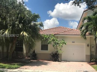 Miramar Single Family Home For Sale: 2608 SW 189th Av
