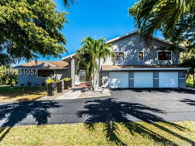 Plantation Single Family Home Backup Contract-Call LA: 11401 NW 17 Street
