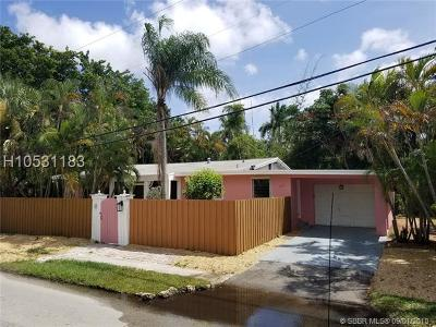Fort Lauderdale FL Single Family Home For Sale: $298,900
