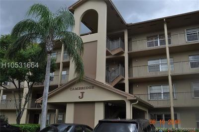 Pembroke Pines Condo/Townhouse For Sale: 12701 SW 14th St #208J