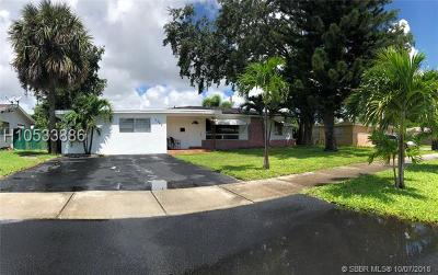 Fort Lauderdale FL Single Family Home For Sale: $324,999
