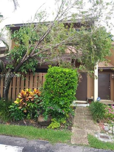 Cooper City Condo/Townhouse For Sale: 4159 SW 87th Ter