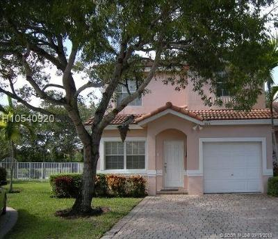 Pembroke Pines Condo/Townhouse For Sale: 508 NW 130th Way #508
